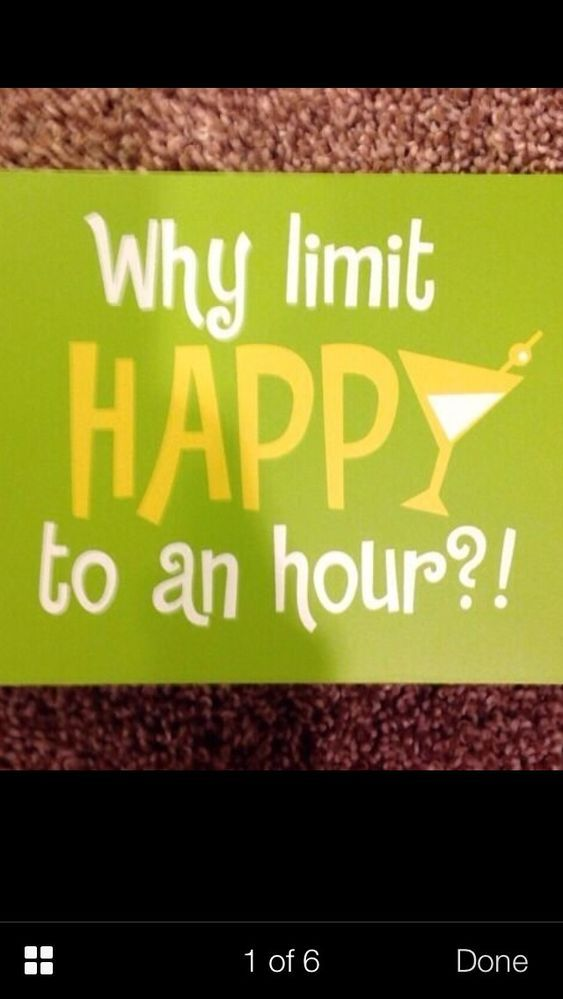 """NWT """"Why Limit Happy To An Hour"""" Clever Captions Wooden Sign - Funny!! #NewViewGiftsAccessories #ArtsCraftsMissionStyle"""
