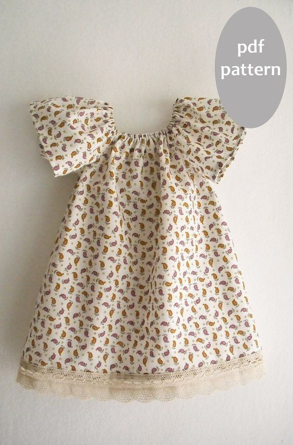 Pillowcase Dress Pattern With Sleeves