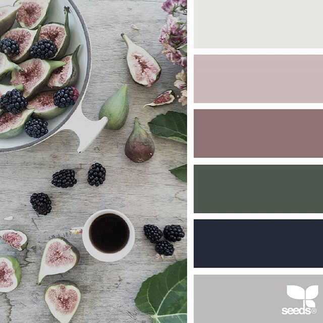 today's inspiration image for { foraged hues } is by @clangart ... thank you, Chantal, for another gorgeous #SeedsColor image share!