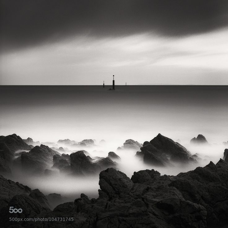 Signes by alainbaumgarten Cap de la Hague Cotentin  Hasselblad, PanF+, ID-11 6x6,analog,black and white,cotentin,film,fine art,goury,hague,hasselblad,ilford,long exposure,medium format,monochrome,nature,normandie,sea,seascape,square