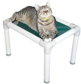 Our cats in individual cages absolutely love perching on these!