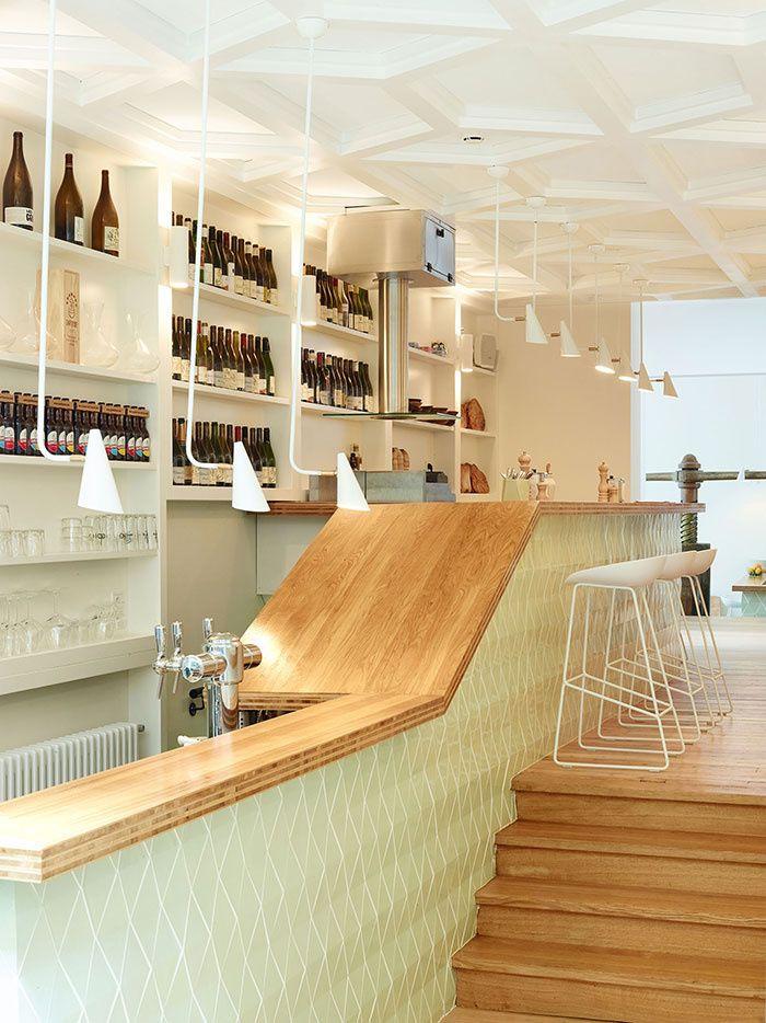 Restaurant Le Comptoir des Galeries à l'Hôtel des Galeries, Bruxelles © Yoann Stoeckel