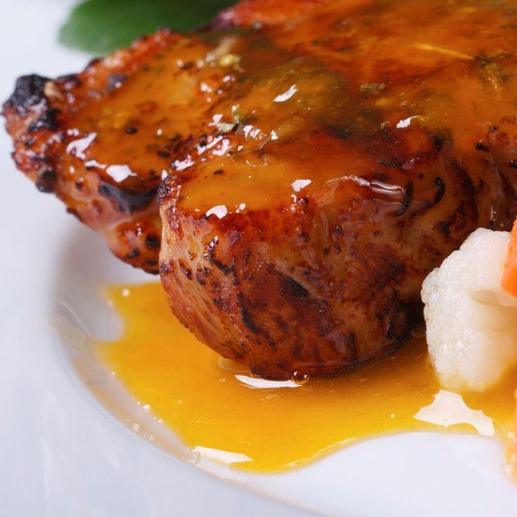 Ricetta filetto di maiale all'arancia