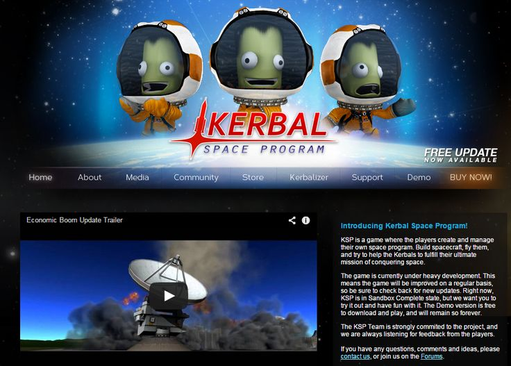 KSP is a game where the players create and manage their own space program. Build spacecraft, fly them, and try to help the Kerbals to fulfill their ultimate mission of conquering space. Educational game #HomeEducation #HomeSchool