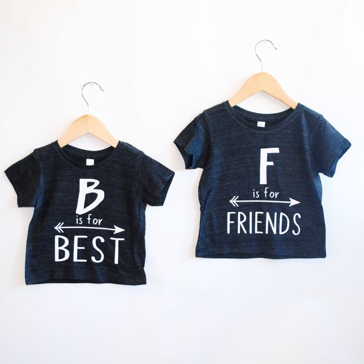 Best Friends Tee -Inspirational Alphabet - Child t-shirt - tee - raglan - toddler, baby, infant - American Apparel by blueenvelope on Etsy https://www.etsy.com/listing/221238209/best-friends-tee-inspirational-alphabet