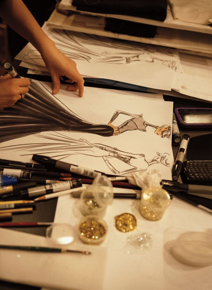 Journey behind the scenes to witness the making of the Fall 2013 Collection