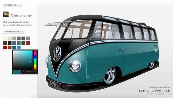 VW Kombi designer