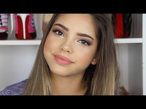 Maquillaje para Adolescentes- Navidad,Año nuevo, festividades - YouTube