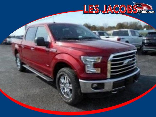 2554 – 2016 #Ford #F-150 XLT Crew Cab 4WD – Ruby Red with Medium Earth Gray, Twin Turbo Unleaded V-6 3.5L Auto, Reverse Sensing System w/Backup Camera, Chrome Pkg., Still under Factory Warranty! #Used #Cars #Cassville, #MO