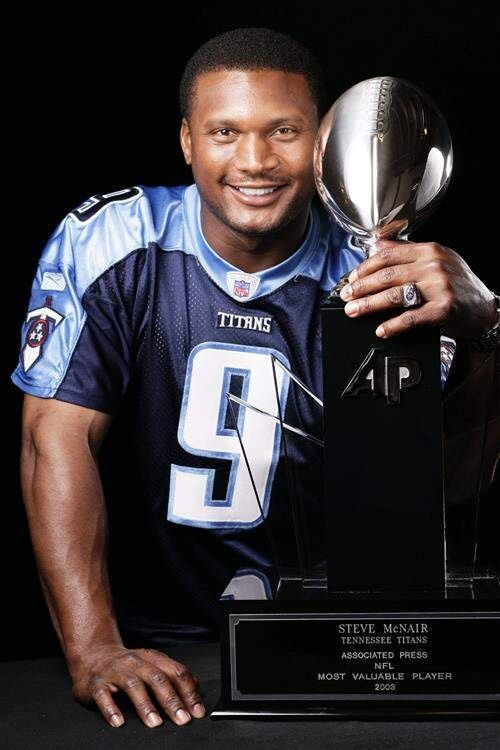 In memory of the late Steve McNair - the only Titans/Oilers Quarterback to start a Super Bowl to date.