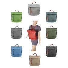 Mujer Piel Mochila Bolso De Mano Bolso bandolera City y stadt-rucksack Compras: EUR 60,85End Date: 13-nov 08:40Buy It Now for only: US EUR…