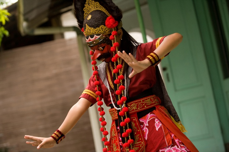 Topeng Dance from West Java.