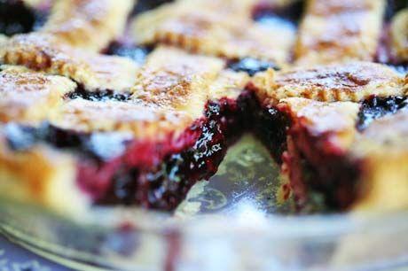 Boysenberry pie-one of my favorites!