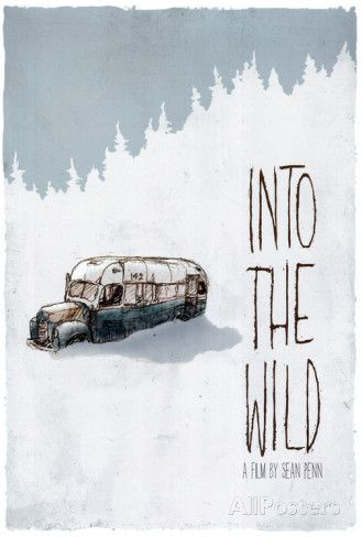 Into The Wild, Englisch Poster