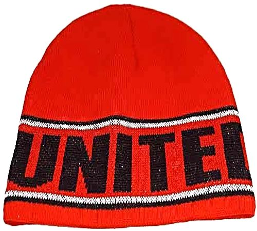 Red UNITED knitted Beanie Hat