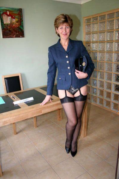 Vintage british stockings and suspenders