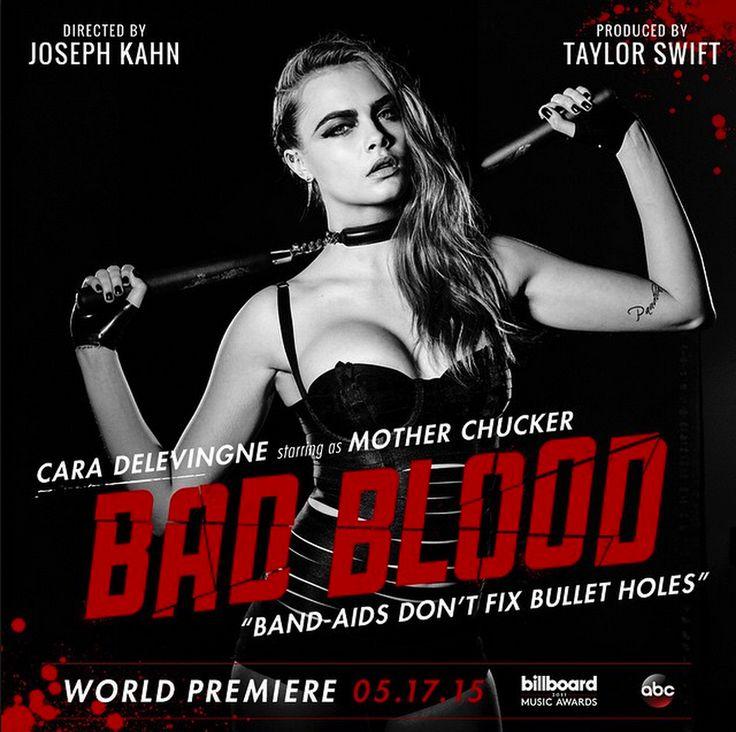Bad Blood - Taylor Swift  Cara Delevingne as Mother Chucker