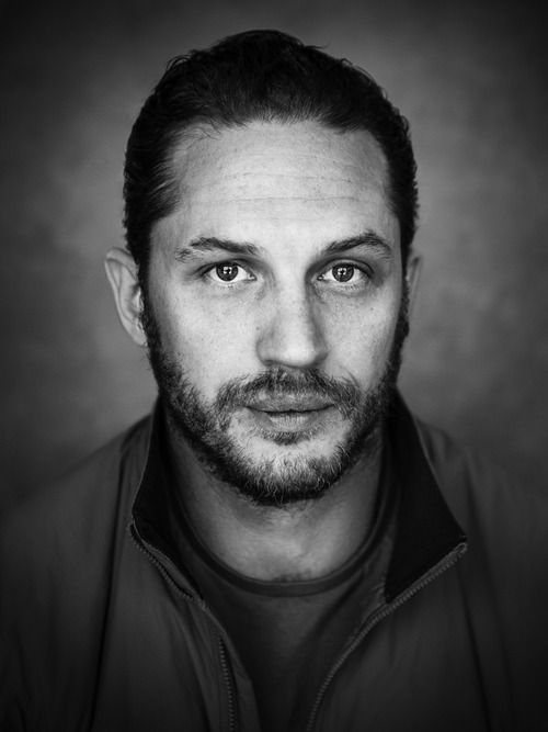 Portrait of Tom Hardy for USA Today.