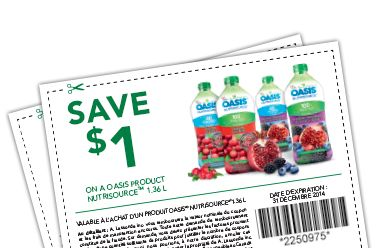 @oasis Juice Canada / Jus Oasis Canada #coupon Click the pic to get the #deal