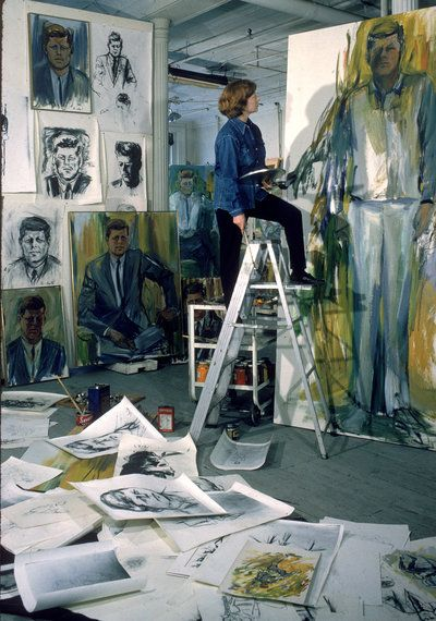 For Artist Elaine De Kooning, Painting Was A Verb, Not A Noun : NPR
