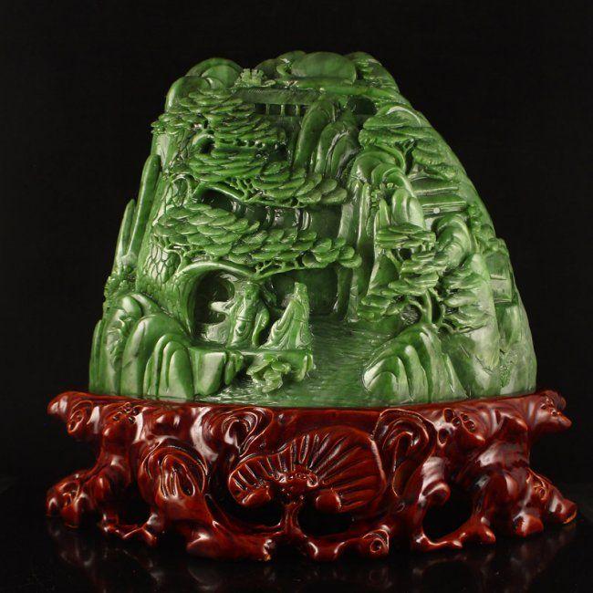 Resultado de imagen para natural jade imperial sculptures