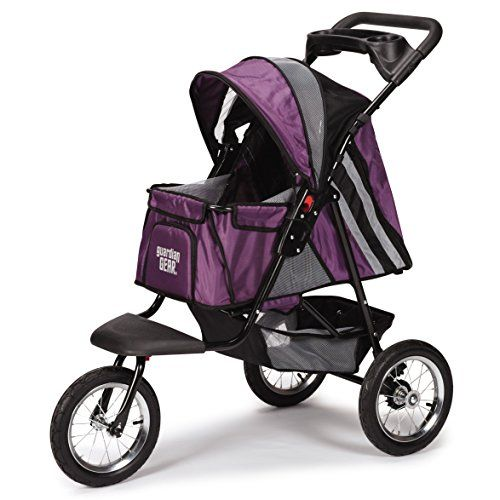 Guardian Gear Sprinter EXT II Stroller for Dogs and Cats, Plum >>> Be sure to check out this awesome product.