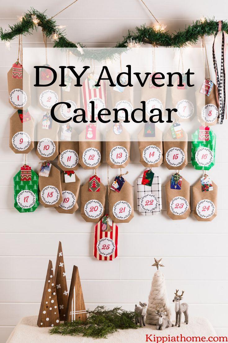 Diy 12 Days Of Christmas Countdown Calendar Scandinavian Yule Craft Christmas Countdown Calendar Christmas Countdown Diy Countdown Calendar Diy