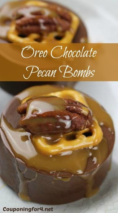 This Oreo Chocolate Pecan Bombs recipe is the perfect holiday, baby or wedding shower dessert that appears to be fancy, but is incredibly easy to make! They can be created in anyone's kitchen, but they look like they just came out of a gourmet chocolatier!