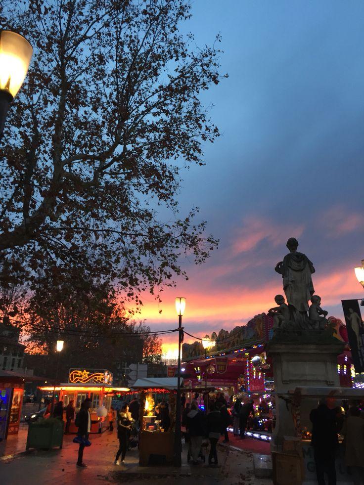 Sunset - Aixe-en-Provence