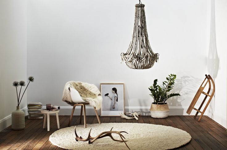 Beautiful shoot for 'Klaylife'. Scandi vibe with our round and chunky Salsa Jamaica rug, About A Chair by Hay from @cultdesignau, Vee Speers print from @norsuinteriors.  Styling by #jacquiMoore for @greenhouseinteriors , photography by @armellehabib