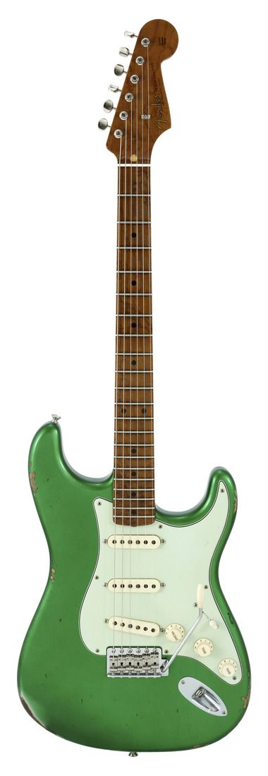 Fender Custom Shop 2017 LTD NAMM 1956 Stratocaster Roasted Relic Aged Candy Green Metallic