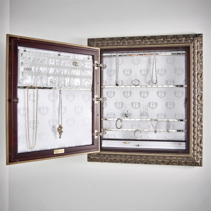 The Royal Delgoti Jewelry Armoire Cache.  Traditional style Monarch in gold.  Holds up to 500 pieces of jewelry.