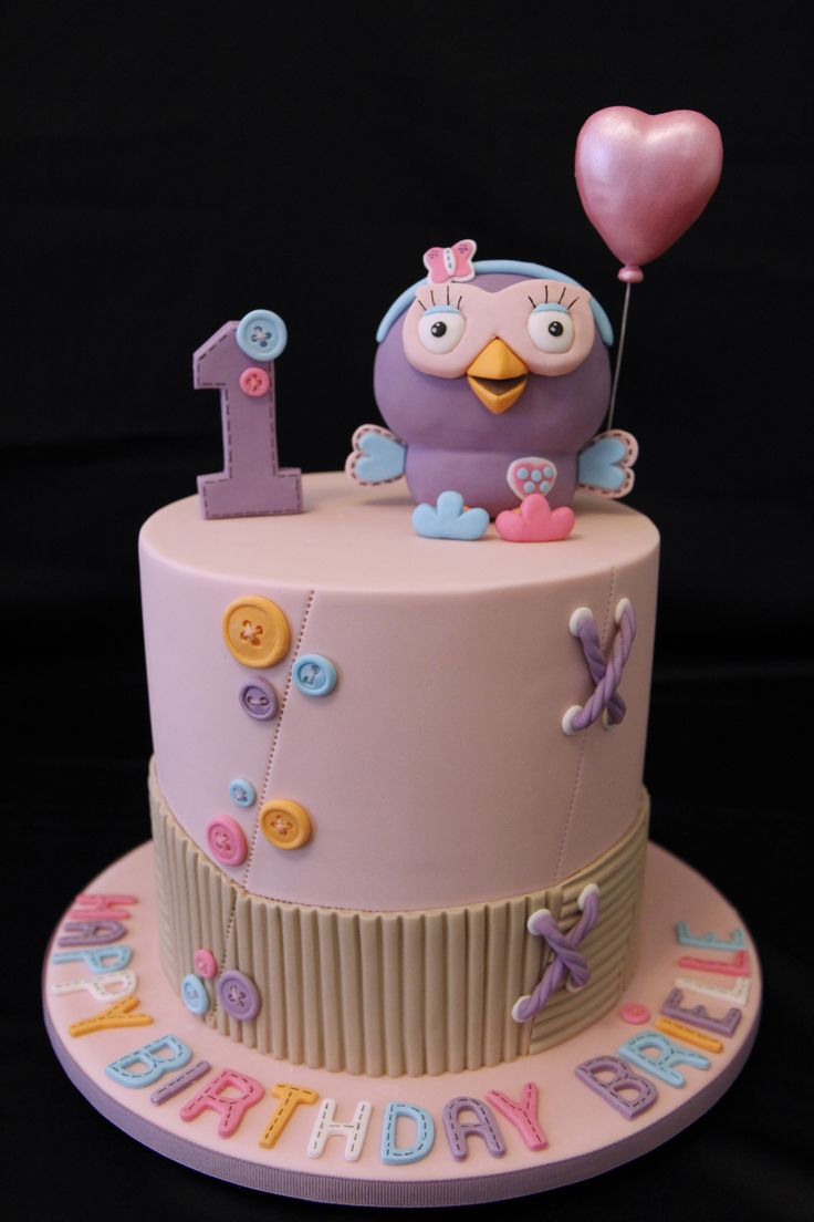 Hootabelle cake from Giggle and Hoot.