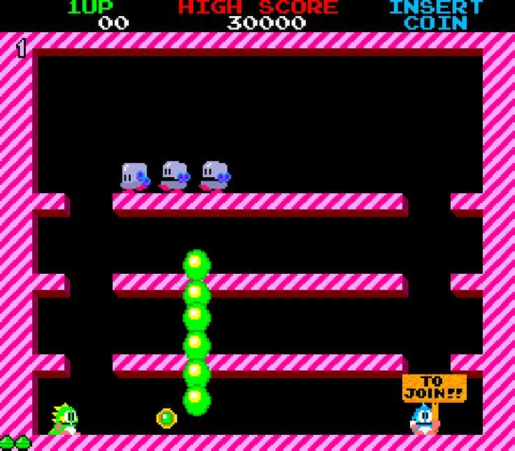 buble bobble gif | ... games 80s arcade eighties retro gaming bubble bobble animated GIF