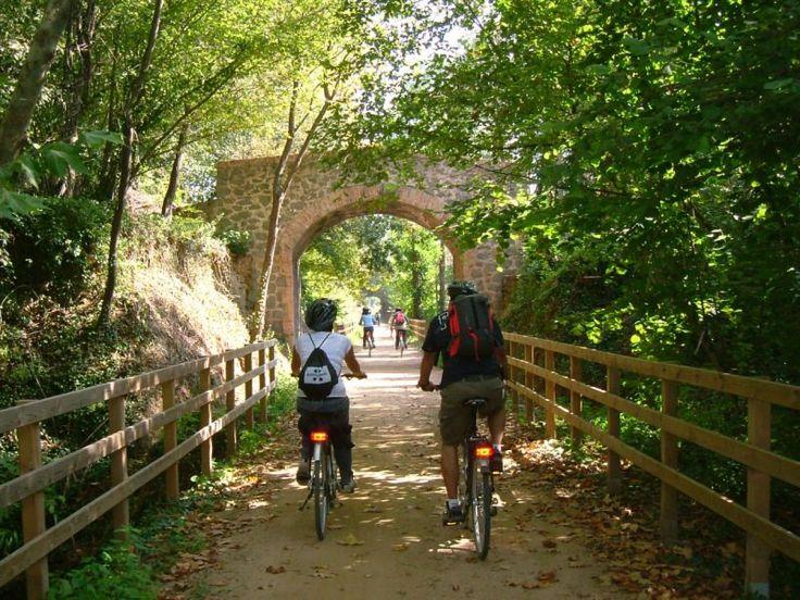 La Garrotxa - Ruta del Carrilet: La Via Verda
