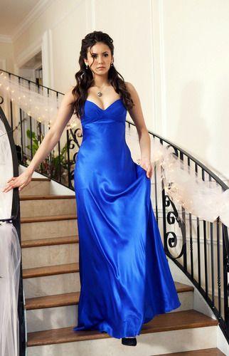 Katherine blue dress