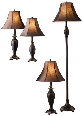Charmant 4 Piece Tuscany Lamp Set Great Price For 4 Lamps!