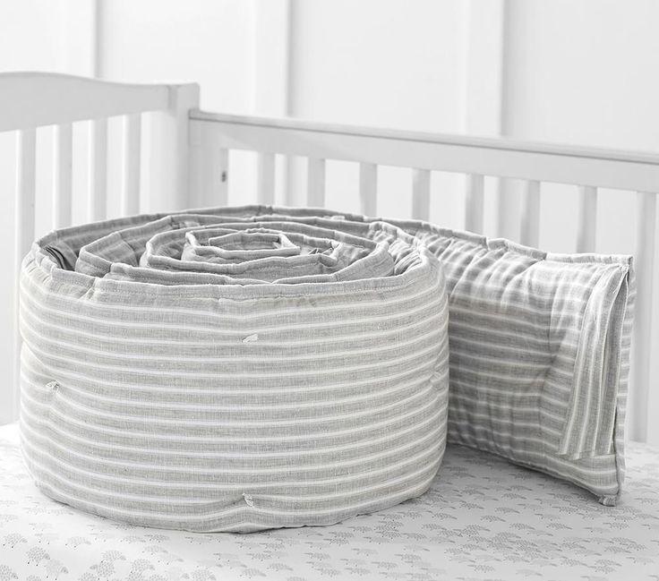 Montauk Belgian Flax Linen Baby Bedding Pottery Barn