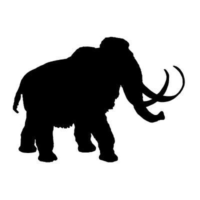 Vector Mammoth, Vector Art, Mammoth Stock Vector : Vectoriel.com