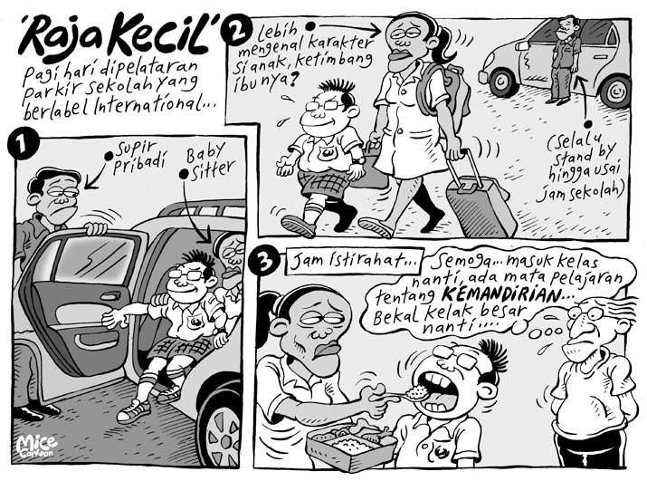 Mice Cartoon: Raja Kecil (Kompas, 17 November 2013)