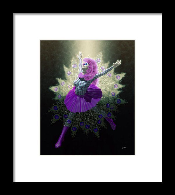 Cabiria Framed Print featuring the digital art The Nights Of Cabiria by Joaquin Abella