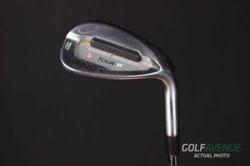 Ping Tour-W Brushed Silver Gap Wedge 52 Stiff RH Steel Golf Club #3047