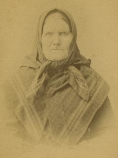 Justiina Rautakorpi (1815-1893), eli Rauta-Tiina. Lapualainen kansanopettaja.