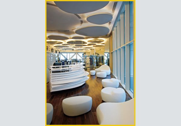 Relax in palestraDoha, Qatar. Tecnologia e avanguardia al Juice Bar della palestra del Kempinski