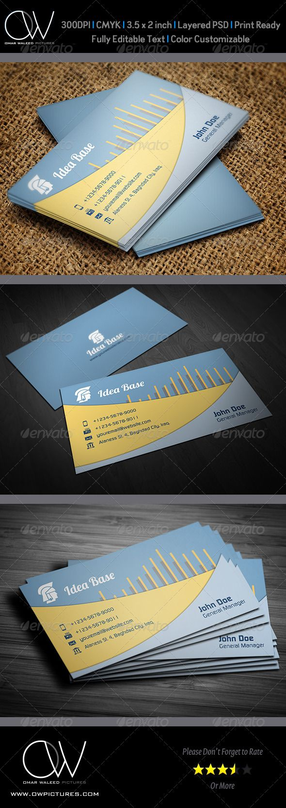 Corporate Business Card Vol29 Print TemplatesResume
