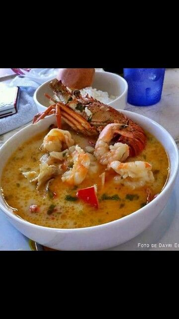 Honduras food ❤  Sopa de mariscos