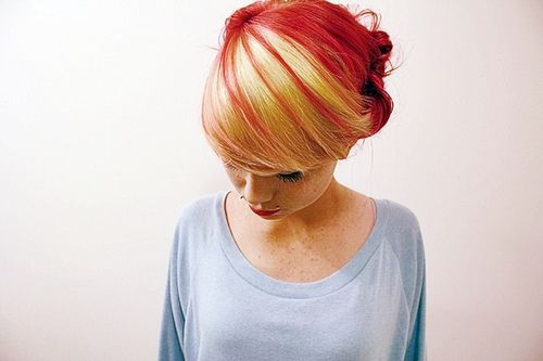 .Hair Ideas, Strawberries Blondes, Colors Combos, Red Blondes, Hair Colors, Dark Hair, Red Hair, Beautiful, Fall Hair