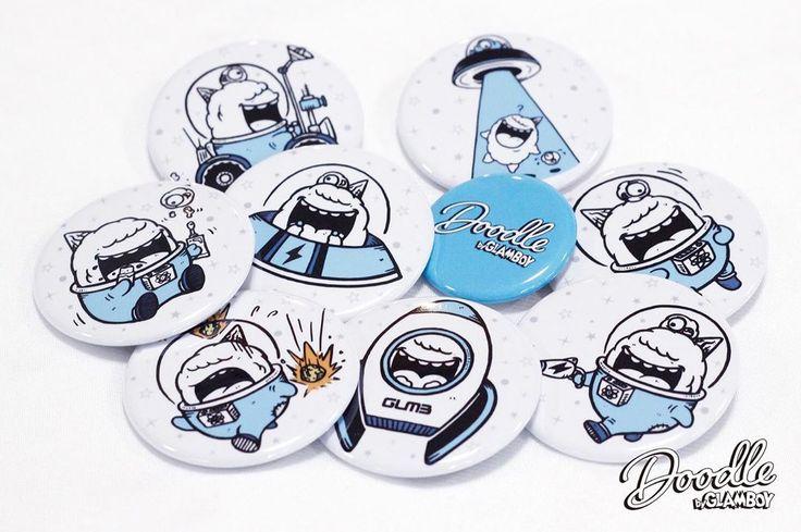 缶バッチ   buttonbadge   buttonbadges   characterdesign   character   cartoo…