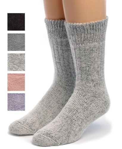 Toasty Toes Comfort Band - Ultimate Alpaca Socks Showing Color options