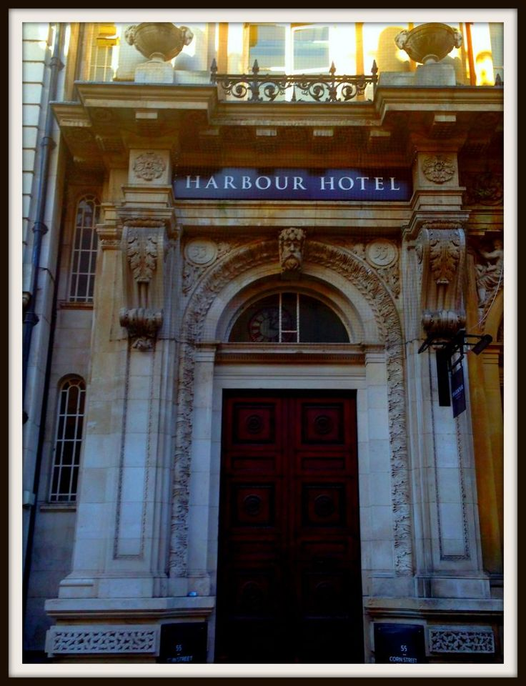 Look at this ornate entrance to the newly opened Bristol Harbour Hotel in Bristol, UK. Life Beyond Borders experiences 4* boutique luxury.